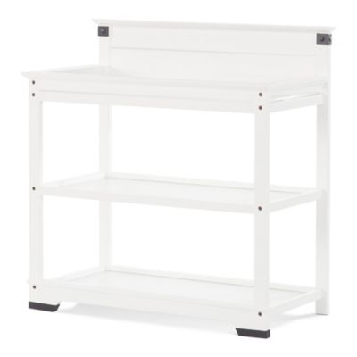 Changing Tables U003e Child Craft™ Redmond Changing Table In Matte White