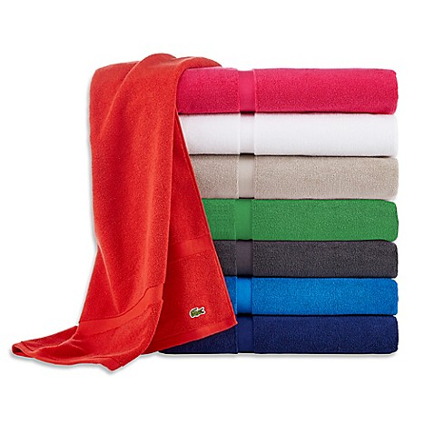 image of Lacoste Court Bath Sheet