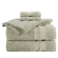 Martex Supima Luxe Bath Towel Collection in Teal (Set of 6)