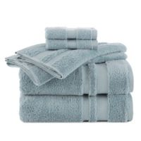 Martex Supima Luxe Bath Towel Collection in Pale Green (Set of 6)