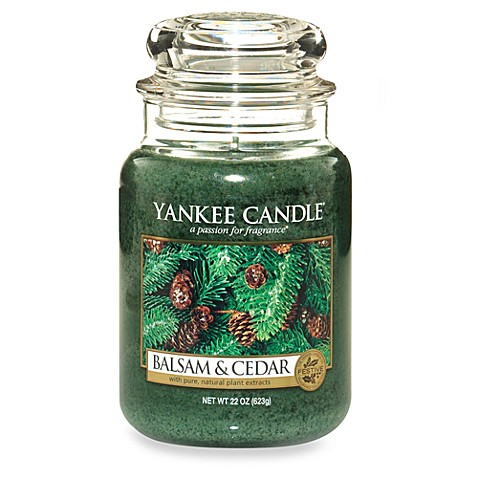 Yankee Candle® Housewarmer® Balsam and Cedar™ Candles ...