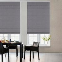 GLOWE by The Shade Store® Cordless Fabric Roman 35-Inch x 72-Inch Shade in Grey