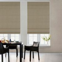 GLOWE by The Shade Store® Cordless Fabric Roman 23-Inch x 72-Inch Shade in Toast