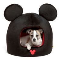 Disney® Mickey Mouse Pet Dome in Black