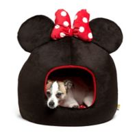 Disney® Minnie Mouse Pet Dome in Black/Red