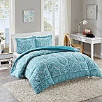 Intelligent Design Nitza Twin/Twin XL Comforter Set in Aqua