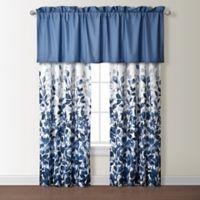 Indigo 84-Inch Rod Pocket Window Curtain Panel Pair in Blue