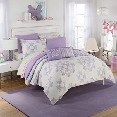 waverly kids ipanema reversible twin comforter set