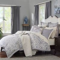 Madison Park Signature Stein 8-Piece Queen Comforter Set in Grey