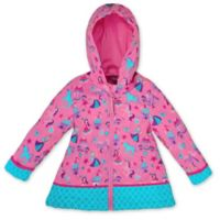Stephen Joseph® Size 3T Princess Raincoat in Pink