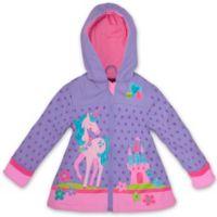 Stephen Joseph® Size 2T Unicorn Raincoat in Purple