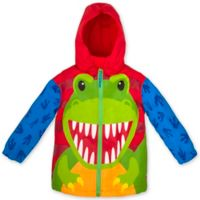 Stephen Joseph® Size 4T Dino Raincoat in Red