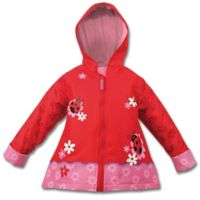 Stephen Joseph® Size 4T Ladybug Raincoat in Red