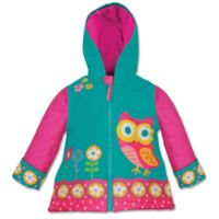 Stephen Joseph® Size 4/5 Owl Raincoat in Teal