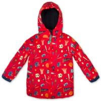 Stephen Joseph® Size 2T Sports Raincoat in Red