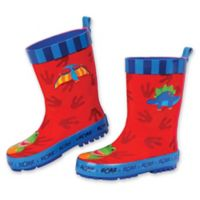 Stephen Joseph® Size 11 Dinosaur Rain Boot in Red