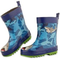 Stephen Joseph® Size 10 Shark Rain Boot in Blue