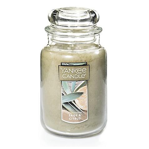 yankee candle sage citrus scented candles bed bath. Black Bedroom Furniture Sets. Home Design Ideas