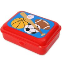 Stephen Joseph® 64 oz. Sports Snack Box in Red