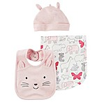carter's® 3-Piece Accessories Set in Pink