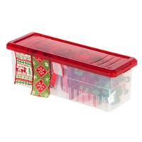 IRIS® Ribbon Storage Box in Red