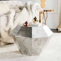 Safavieh Grace Accent Table in Antique Silver