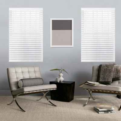 GLOWE by The Shade Store® Custom Cordless Classic Wood Blinds
