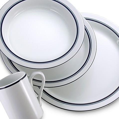 Dansk 174 Bistro 174 Christianshavn Dinnerware In Blue Bed