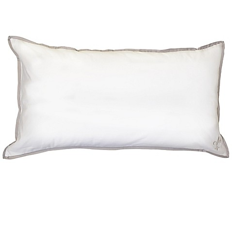 Stearns & Foster Luxury Down Alternative Cotton Pillow in White - Bed Bath & Beyond