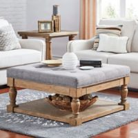 iNSPIRE Q® Annie Tufted Top Cocktail Table/Ottoman in Grey