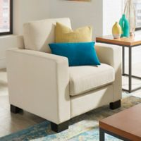 iNSPIRE Q® Darden Down-Filled Arm Chair in White