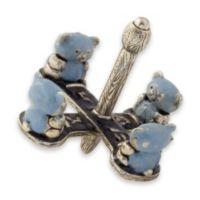 Teddy Bear Dreidel in Blue