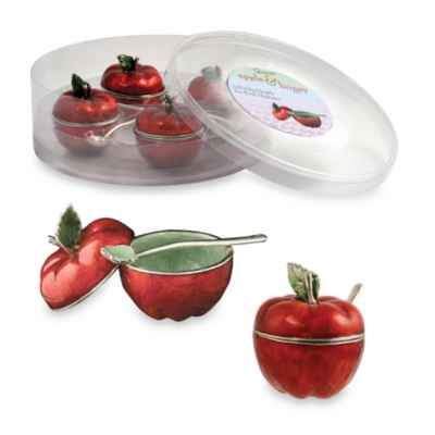 Quest Collection Honey Apple Mini Bowls (Set of 4)