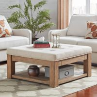 iNSPIRE Q® Allie Tufted Top Cocktail Table/Ottoman in Beige