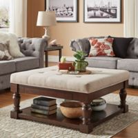 iNSPIRE Q® Annie Tufted Cocktail Table/Ottoman in Beige