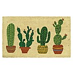 Mohawk Home® Cactus Row 18-Inch x 30-Inch Door Mat in Green