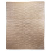Exquisite Rugs Milano Velvet 6-Foot x 9-Foot Area Rug in Ivory