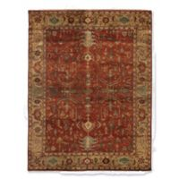 Exquisite Rugs Antique-Weave Serapi 8-Foot x 10-Foot Area Rug in Red/Gold