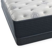 Beautyrest® Silver™ Fire Island Plush Low Profile Full Mattress Set