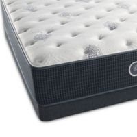 Beautyrest® Silver™ Port Madison Plush Low Profile Twin Mattress Set