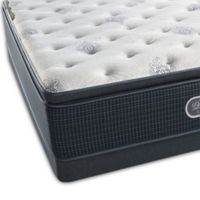 Beautyrest® Silver™ Port Madison Luxury Firm Pillow Top Low Profile Queen Mattress Set