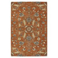 Kaleen Helena Erbil 5-Foot 6-Inch x 7-Foot 9-Inch Area Rug in Paprika