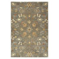 Kaleen Helena Najaf 5-Foot x 7-Foot 9-Inch Area Rug in Pewter Green