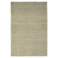 Kaleen Textura Zig Zag 3-Foot 6-Inch x 5-Foot 6-Inch Area Rug in Green