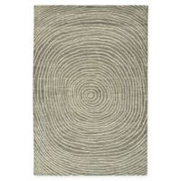 Kaleen Textura Swirl 2-Foot x 3-Foot Accent Rug in Grey