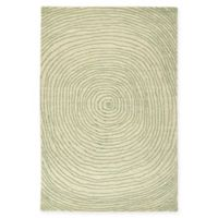 Kaleen Textura Swirl 2-Foot x 3-Foot Accent Rug in Green