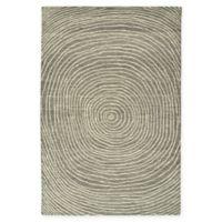 Kaleen Textura Swirl 8-Foot x 10-Foot Area Rug in Grey