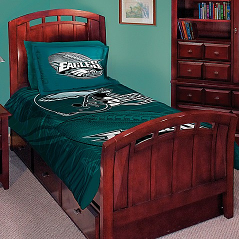 Nfl Philadelphia Eagles Twin Full Comforter Set Bed Bath