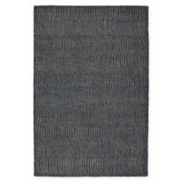 Kaleen Textura Swerv 2-Foot x 3-Foot Accent Rug in Blue