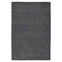 Kaleen Textura Swerv 8-Foot x 10-Foot Area Rug in Blue